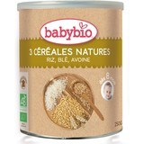 Babybio Tres Cereales Nature 250gr