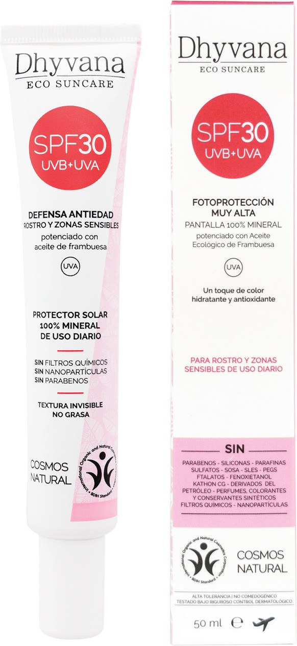 Dhyvana Protector Solar Spf30 50 Ml Con Color Bb Cream