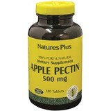 Natures Plus Pectina De Manzana 500 Mg 180 Comp