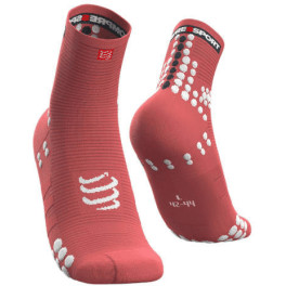 Compressport Calcetines Pro Racing Socks V3.0 Run High Coral
