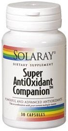 Solaray Superantioxidant Companion 30 Vcaps