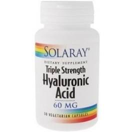 Solaray Hyaluronic Acid 60 Mg 30 Vcaps