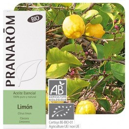 Pranarom Limon Cascara 10 Ml Bio