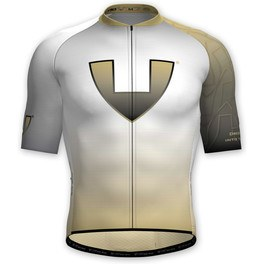 Vió Bike Wear Maillot Manga Corta Ciclismo Hombre Gold Edition White 1 Short Sleeve Jersey Vió