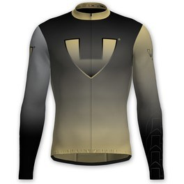 Vió Bike Wear Maillot Manga Larga Ciclismo Invierno Hombre Gold Edition Black 1 Winter Long Sleeve Jersey Vió