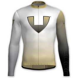 Vió Bike Wear Maillot Manga Larga Ciclismo Invierno Hombre Gold Edition White 1 Winter Long Sleeve Jersey Vió