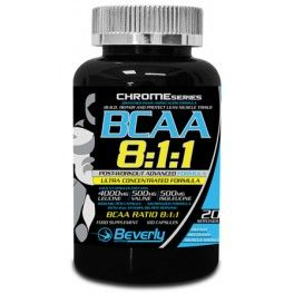 Beverly Nutrition BCAA 8:1:1 Post-Workout 100 caps