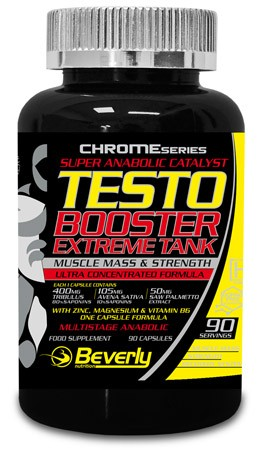 Beverly nutrition Testo Booster Extreme Tank 80 caps