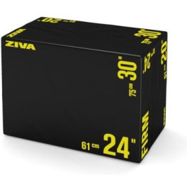 Ziva Performance Plyo Box Negro/amarillo