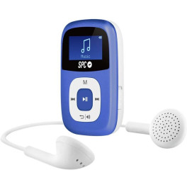 Spc Sparrow Azul 4gb Reproductor Mp3