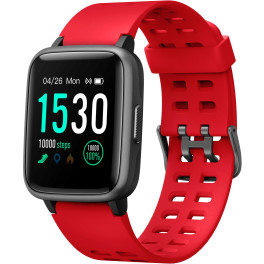 Leotec Smartwatch Multisport Worldfit Rojo