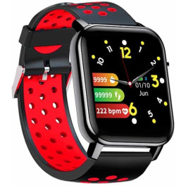Leotec Smartwatch Multisport Bip 2 Red