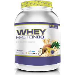 Mmsupplements Whey Protein80 - 2 Kg - Mm Supplements - (piña Coco)