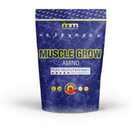 Mmsupplements Mg Amino Muscle Grow - 500g - Mm Supplements - (ponche De Frutas)