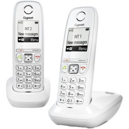 Gigaset Dect As405 Duo Blanco