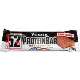Weider 52% Low Carb Protein Bar 1 barrita x 50 gr