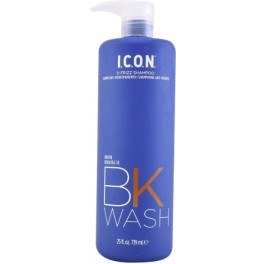 I.c.o.n. Bk Wash Frizz Shampoo 739 Ml Unisex