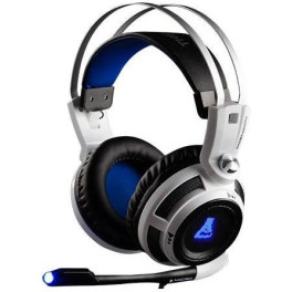 The G-lab Korp 200 Negro Gris Gaming Auriculares