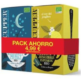 Cupper Bipack Ahorro Snore And Peace Limon Y Jengibre Bio