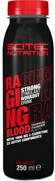 Scitec Nutrition Raging Blood Strong 12 botellas x 250 ml
