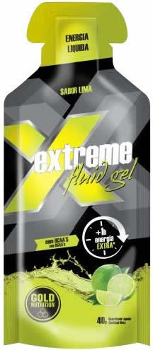 Gold Nutrition Extreme Fluid Gel con BCAAs 24 geles x 40 gr