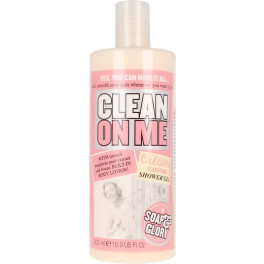 Soap & Glory Clean On Me Creamy Clarifying Shower Gel 500 Ml Unisex