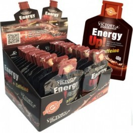 Victory Endurance Energy Up! + Cafeína Gel 24 geles x 40 gr