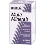 Health Aid Multiminereals 30 Comp