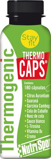 Nutrisport Thermo Caps 9 botes x 180 caps