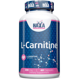 Haya Labs Haya L-carnitine 250 Mg. - 60 Caps.