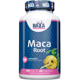 Haya Labs Haya Maca 500 Mg. - 60 Caps.