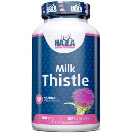 Haya Labs Haya Milk Thistle 100 Mg. - 60 Caps.