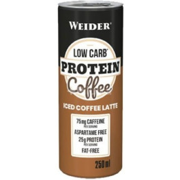 Weider Low Carb Protein Coffee 1 lata x 250 ml