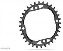 Absolute Black Plato Oval 104bcd  narrow/wide Chainrings For Shimano Hg+ 12spd