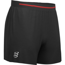 Compressport Pantalon Corto Performance Short Negro