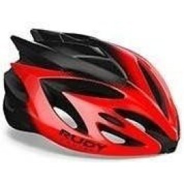 Rudy Project Rush Red - Black (shiny)  Visor - Free Pads Incl.