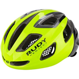Rudy Project Strym Yellow Fluo (shiny) Free Pads + Bug Stop Incl.