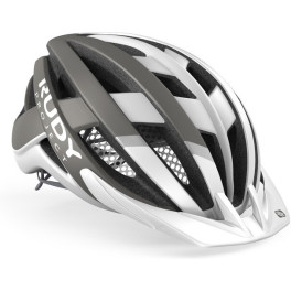Rudy Project Venger Mtb White - Grey (matte) Visor + Free Pads + Bug Stop Incl.