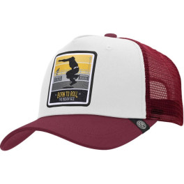 The Indian Face Born To Roll White / Red Gorra