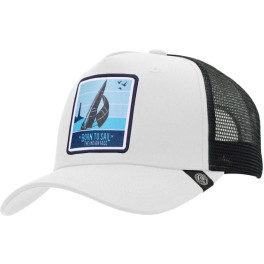 The Indian Face Born To Sail White / Black Gorra