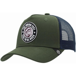 The Indian Face Born To Be Free Green / Blue Gorra