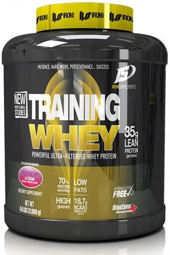 Iron Supplements Training Whey 2 kg (4,4 lbs)
