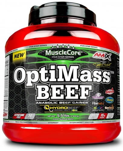Amix MuscleCore OptiMass Beef Gainer 2,5 kg