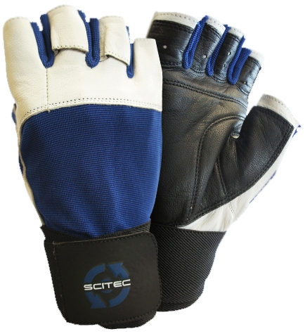 Scitec Guantes Power Blue