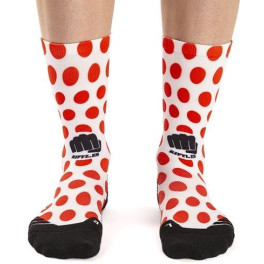 Ridefyl Calcetines Ciclismo Reds