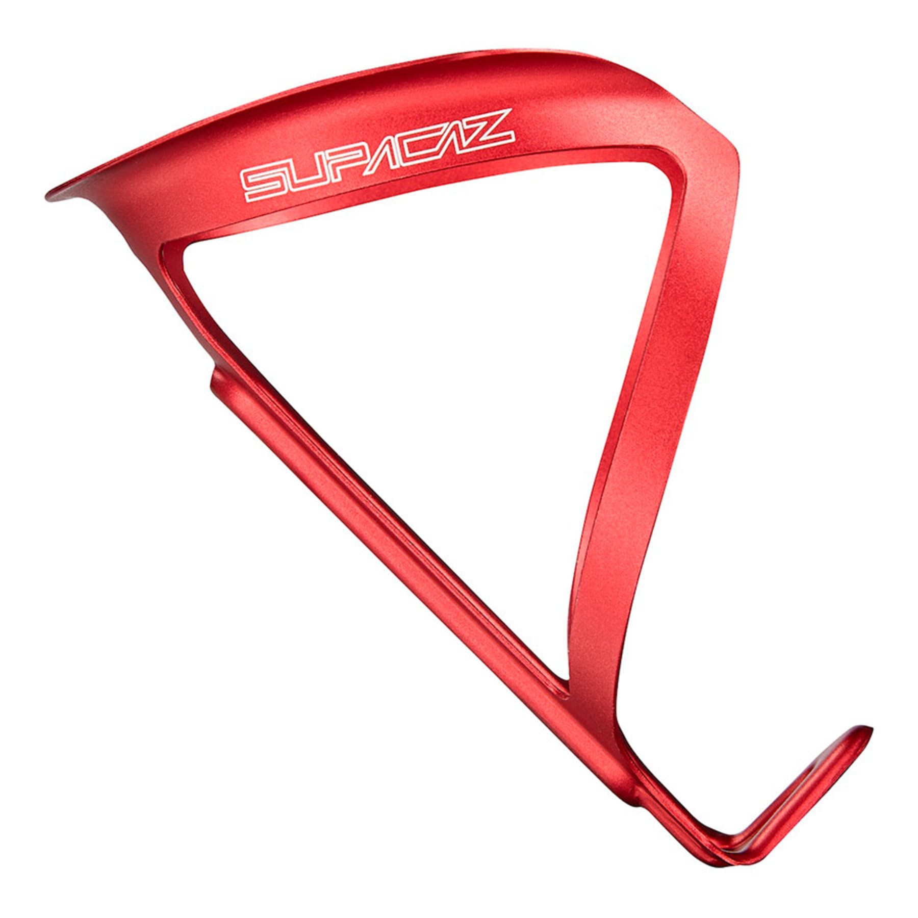 Supacaz Fly Cage Anodized Red