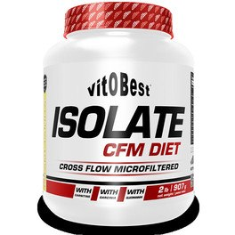 Vitobest Isolate Cfm Diet Choco 2 Lb 907 Gr