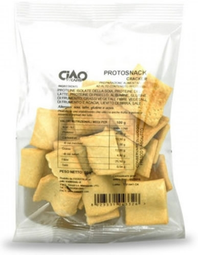 CiaoCarb ProtoSnack Crackers Stage 1 50 gr