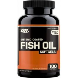 Optimum Nutrition Enteric Coated Fish Oil 100 caps