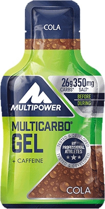 Multipower Multicarbo Energy Gel Guarana 1 gel x 40 gr